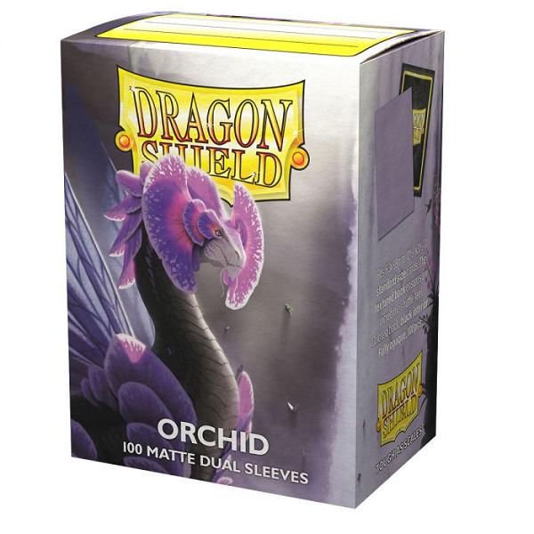 Arcane Tinmen DRAGON SHIELD SLEEVES MATTE DUAL ORCHID 100CT