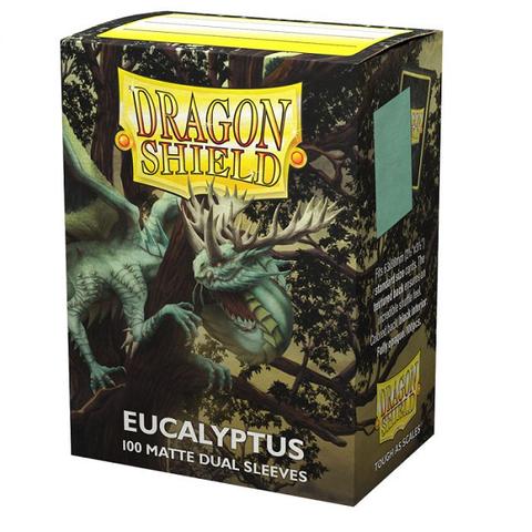 DRAGON SHIELD SLEEVES MATTE DUAL EUCALYPTUS 100CT