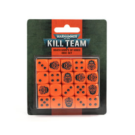 Warhammer 40k KILL TEAM: DEATH KORPS OF KRIEG DICE SET