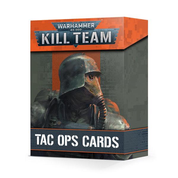 Warhammer 40k KILL TEAM: TAC OPS CARDS (FR)