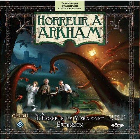 Horreur à Arkham: L'Horreur de Miskatonic (Extension) (FR)