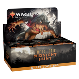 Wizards of the Coast MTG INNISTRAD MIDNIGHT HUNT DRAFT BOOSTER BOX *DATE DE SORTIE 24 SEPTEMBRE*