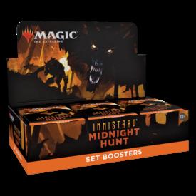 Wizards of the Coast MTG INNISTRAD MIDNIGHT HUNT SET BOOSTER BOX *DATE DE SORTIE 24 SEPTEMBRE*
