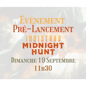 tome2 Pré-Lancement Innistrad Midnight Hunt (19 Septembre)