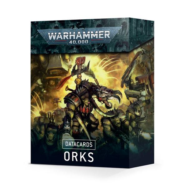 Warhammer 40k DATACARDS: ORKS (EN) *DATE DE SORTIE 11 SEPTEMBRE*