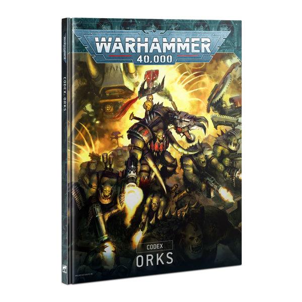 Warhammer 40k CODEX: ORKS (HB) (EN) *DATE DE SORTIE 11 SEPTEMBRE*