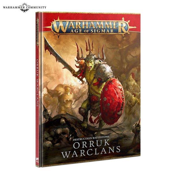 Age of Sigmar BATTLETOME: ORRUK WARCLANS (HB) (EN)