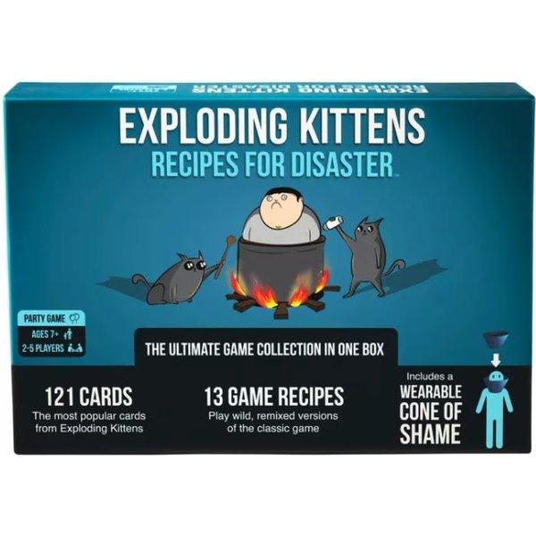 EXPLODING KITTENS EXPLODING KITTENS: RECIPES FOR DISASTER (EN)