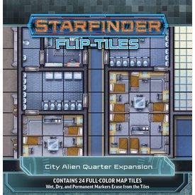 Paizo STARFINDER FLIP-TILES: CITY ALIEN QUARTER EXP