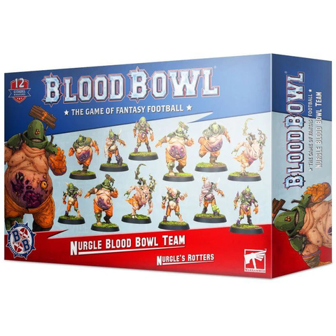 Blood Bowl - Nurgle's Team - Nurgle's Rotters