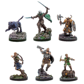 WIZKIDS DND LEGEND OF DRIZZT - COMPANIONS OF THE HALL