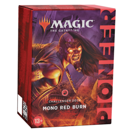 Wizards of the Coast MTG PIONEER CHALLENGER DECK 2021 - Mono Red Burn