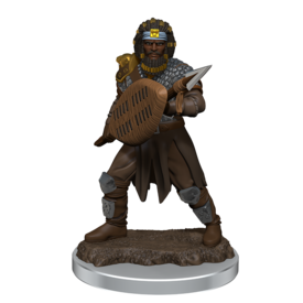 WIZKIDS DND ICONS O/T REALMS MALE HUMAN FIGHTER PREM FIG