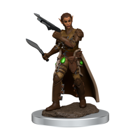 WIZKIDS DND ICONS O/T REALMS FEMALE SHIFTER ROGUE PREM FIG