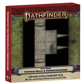 Paizo PF FLIP-TILES: FORTRESS WALLS AND TOWERS EXPANSION