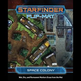Paizo STARFINDER FLIP-MAT SPACE COLONY