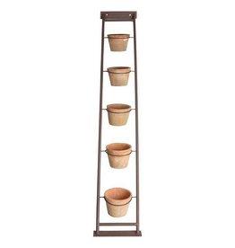 Esschert AT plant ladder with 5 pots