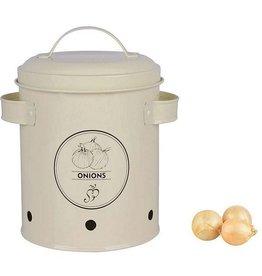Esschert Storage Tin - Onions