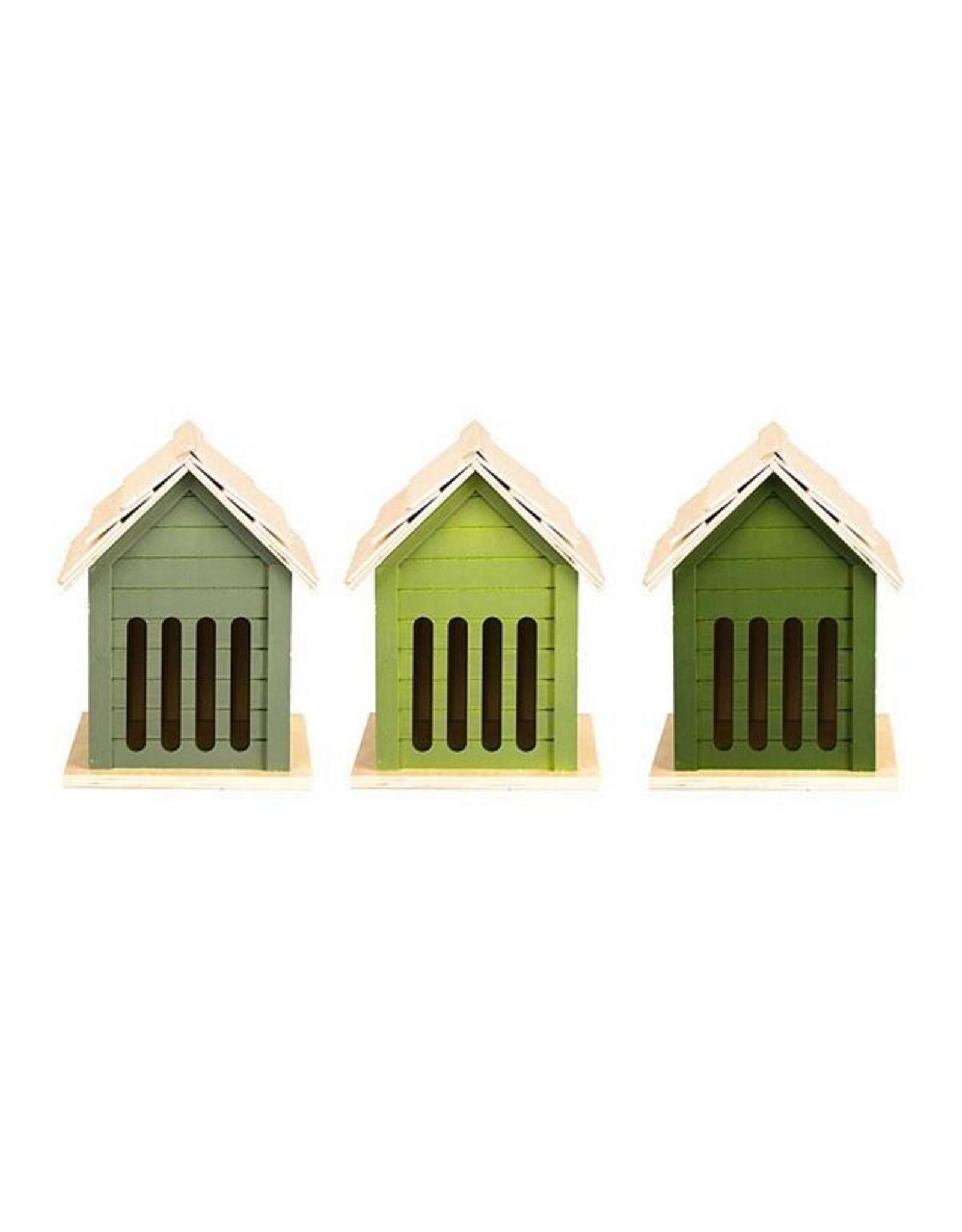 Esschert Green butterflyhouse 3/assorted