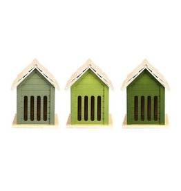 Esschert Green butterflyhouse 3/assorted
