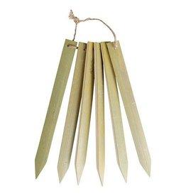 Esschert Long Bamboo plant lables set
