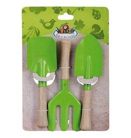 Esschert Children's Small Garden Tools Set - Green
