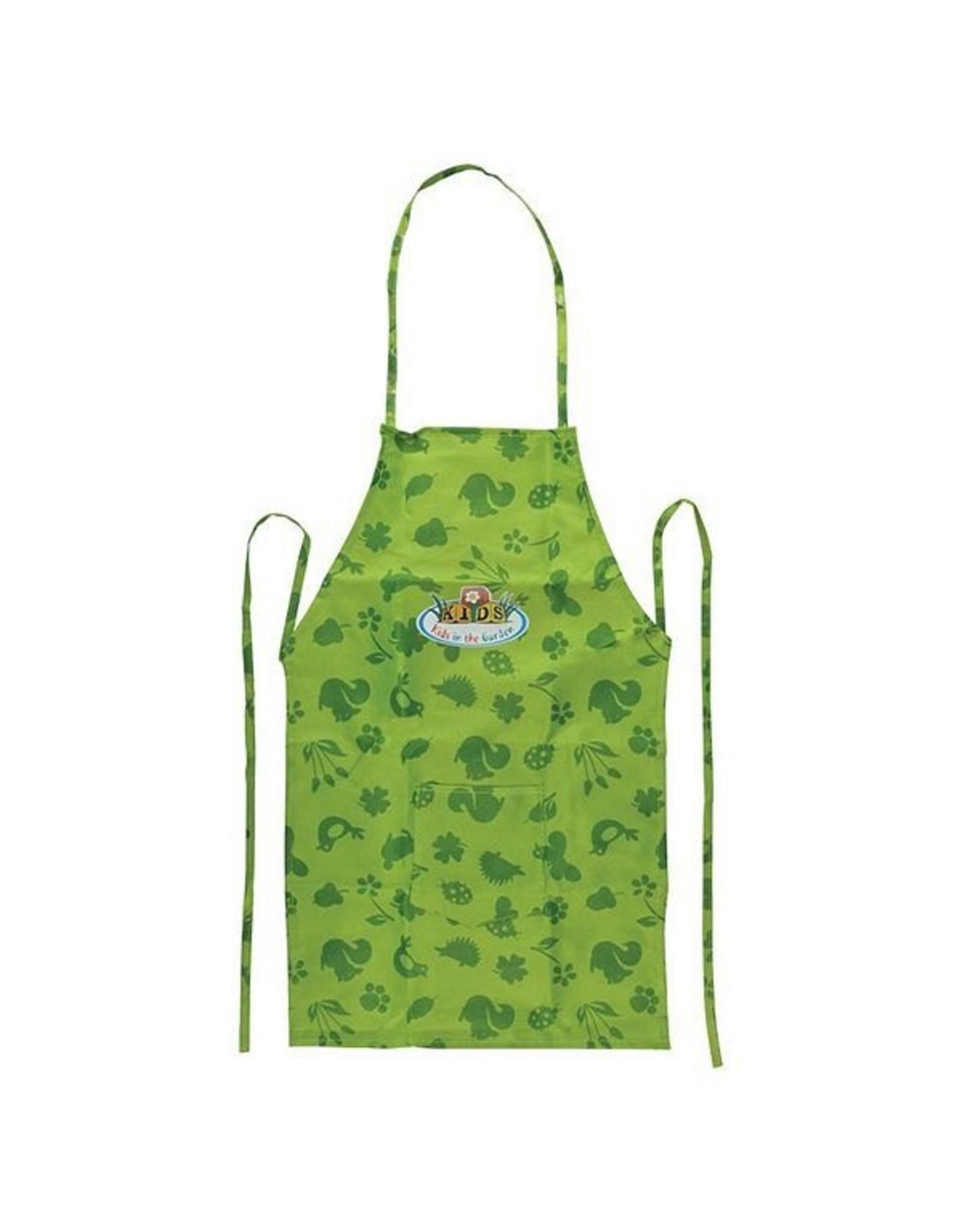 Esschert Children's Canvas Apron - Green
