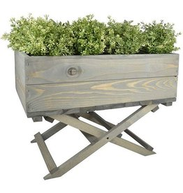 Esschert Planter on foldable stand