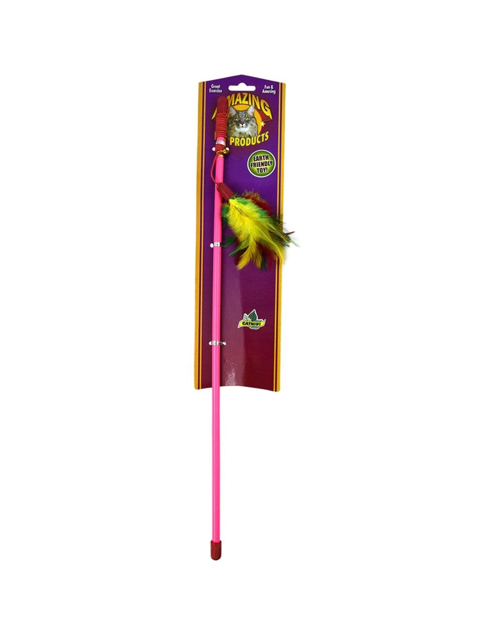 Amazing - Teaser Wand with Feathers