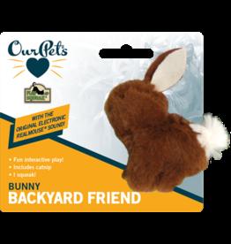 Our Pets - Play N Squeak Backyard Bunny Squeak & Catnip