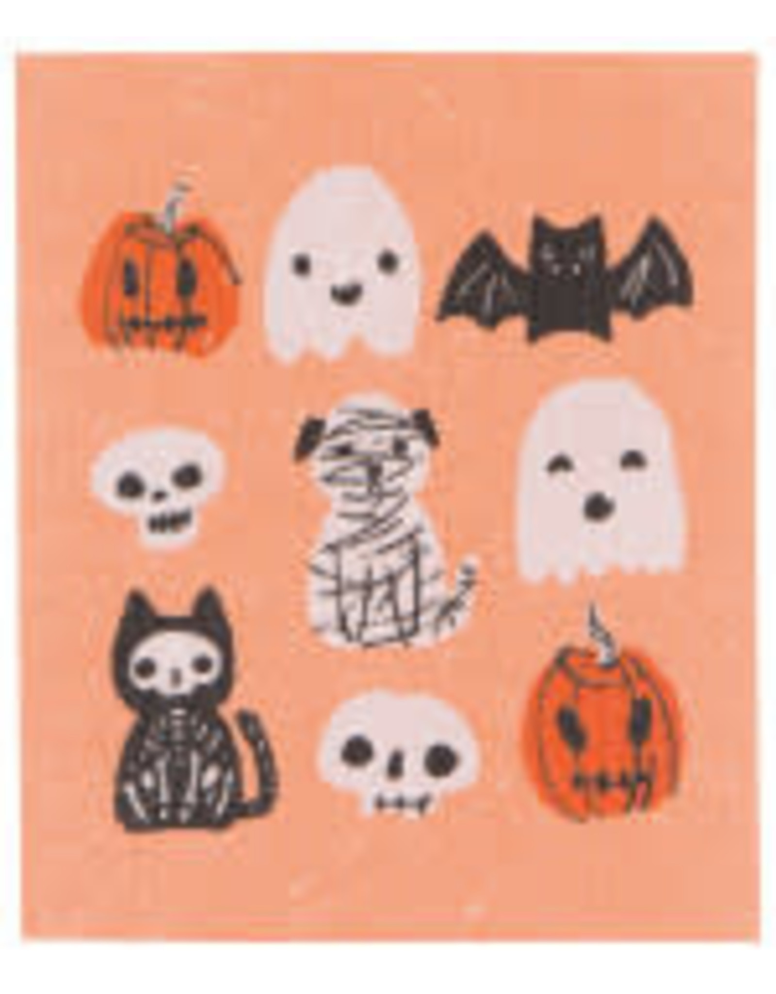 Danica Danica - Swedish Dishcloth - Happy Howloween