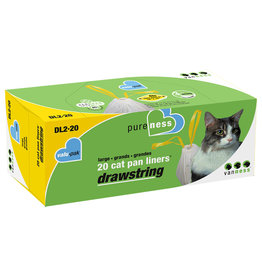 Vanness Drawstring Litter Pan Liners