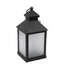 lantern 10x10x23cm black