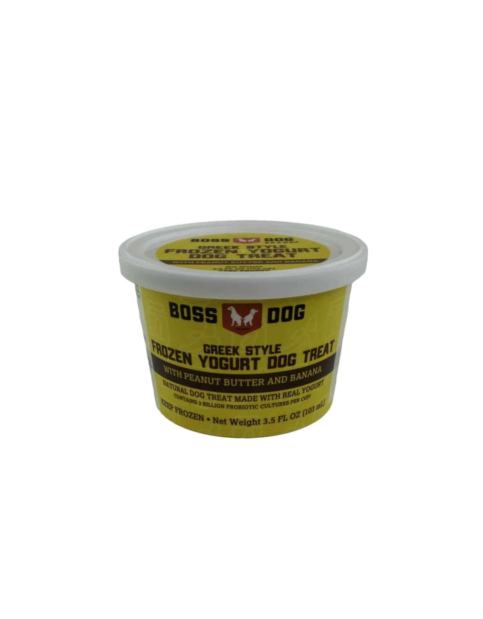 Boss Dog Boss Dog - Frozen Yogurt Peanut Butter & Banana 104ml
