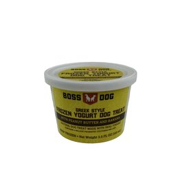 Boss Dog Boss Dog - Frozen Yogurt Peanut Butter & Banana 104ml
