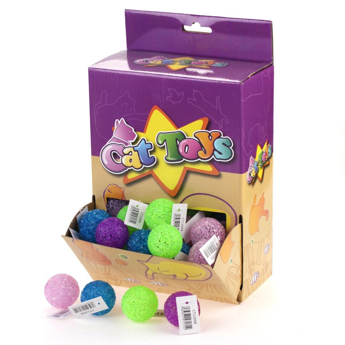 Cat Toys - Glitter Catnip Ball