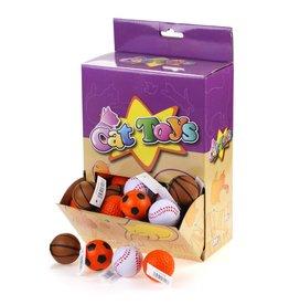 Cat Toys - Sponge Sports balls