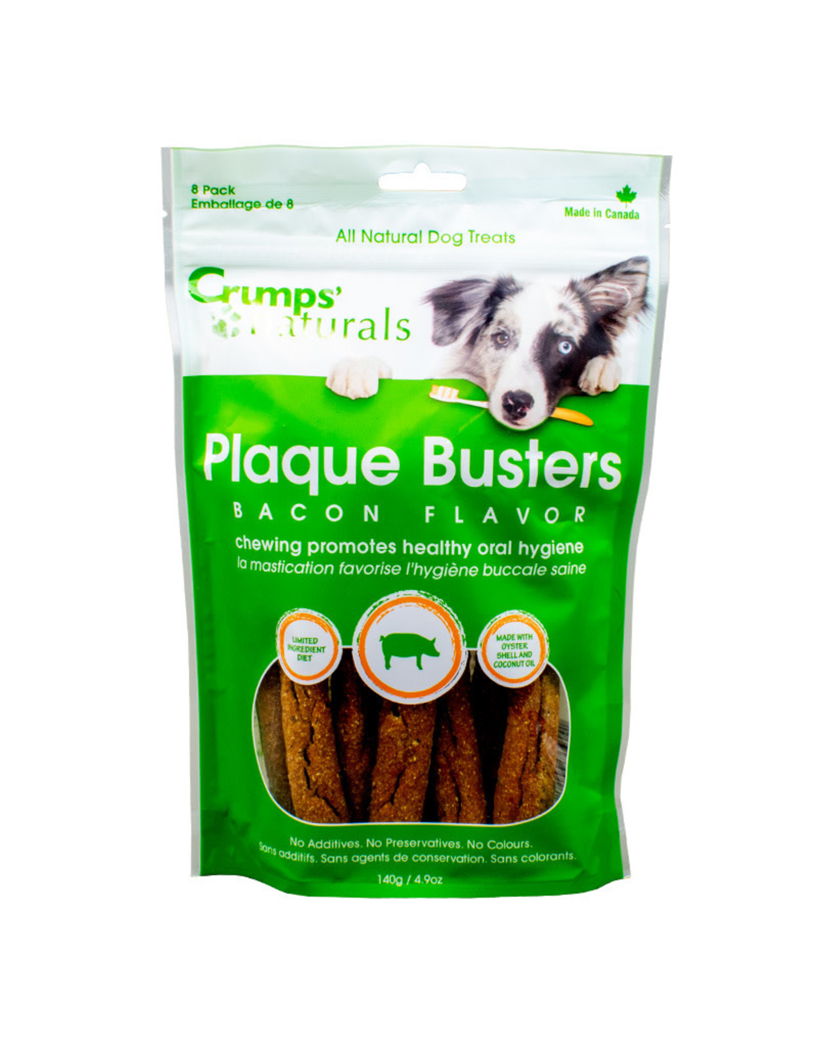 Crumps - Plaque Busters 7'' Bacon