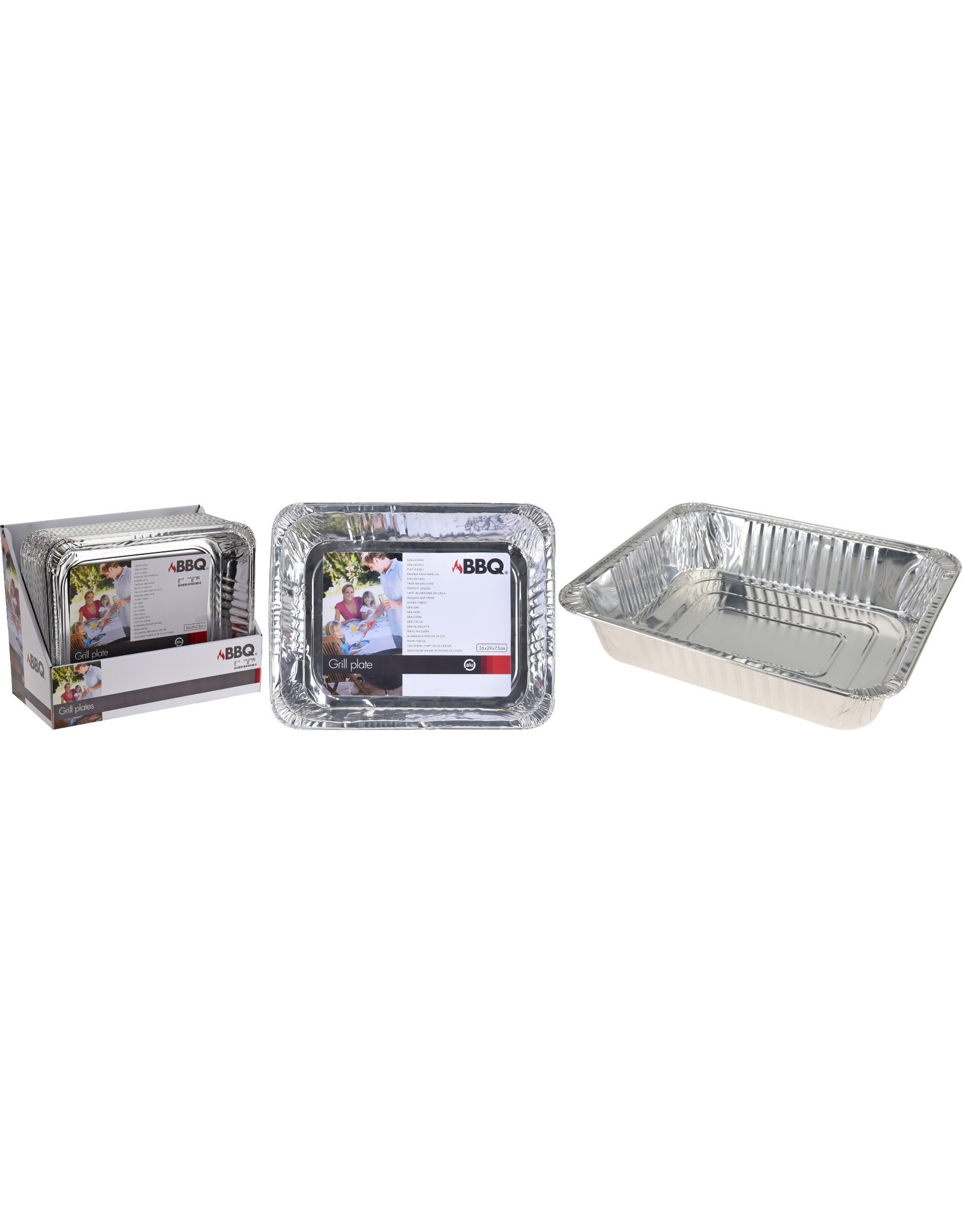 Bowl Aluminum Rectangular