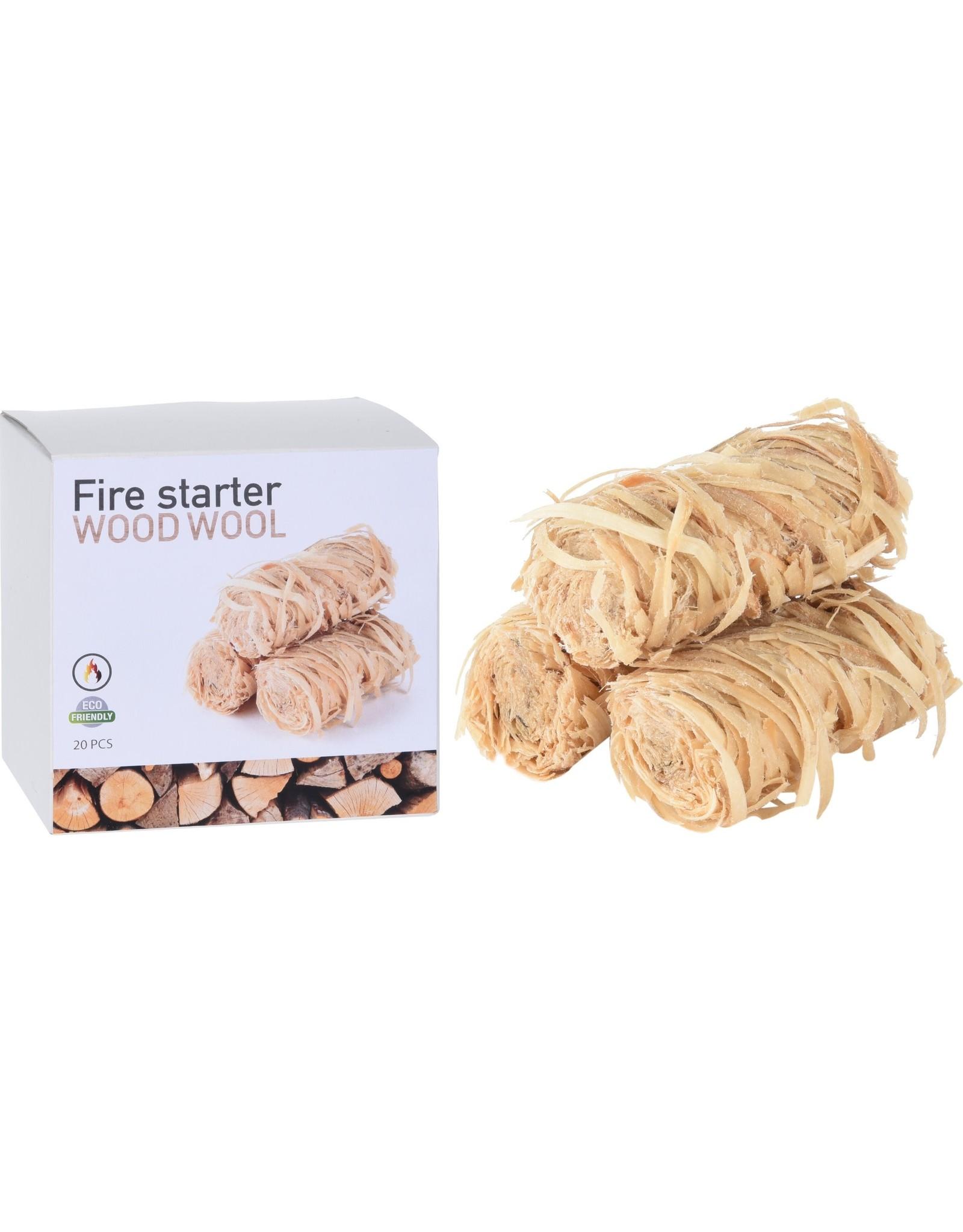 Fire Starter - Box of Wood Wool - 20pcs