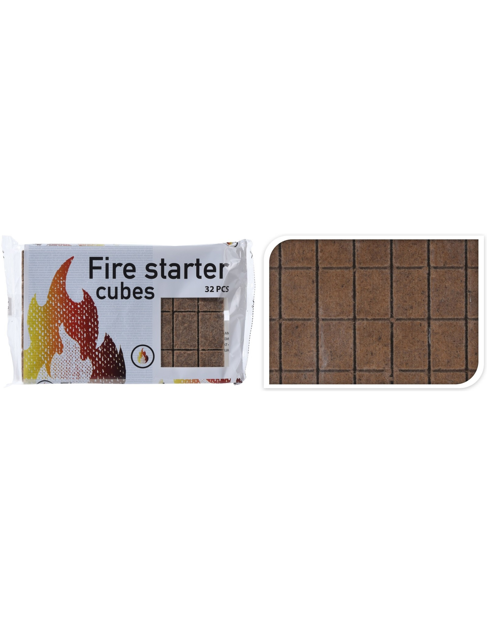 Fire Starter Cubes -  Wood 32pcs