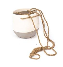 Mica Resa Hanging Pot Round