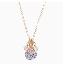 Hillberg & Berk H&B - Sparkle Ball Cluster Necklace
