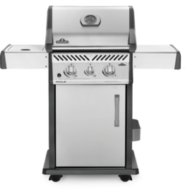 Napoleon Napoleon Rogue 365 BBQ - Stainless Steel - Natural Gas - 37000 BTU's - IR Side Burner - SS WAVE Cooking Grids