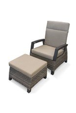 Alpha Baku Lounge Chair - Recliner
