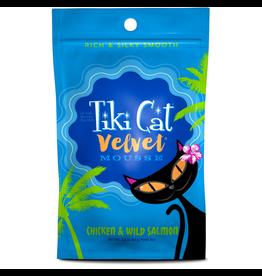 Tiki Cat Tiki Cat - Velvet Mousse GF Chicken/Wild Salmon Pouch