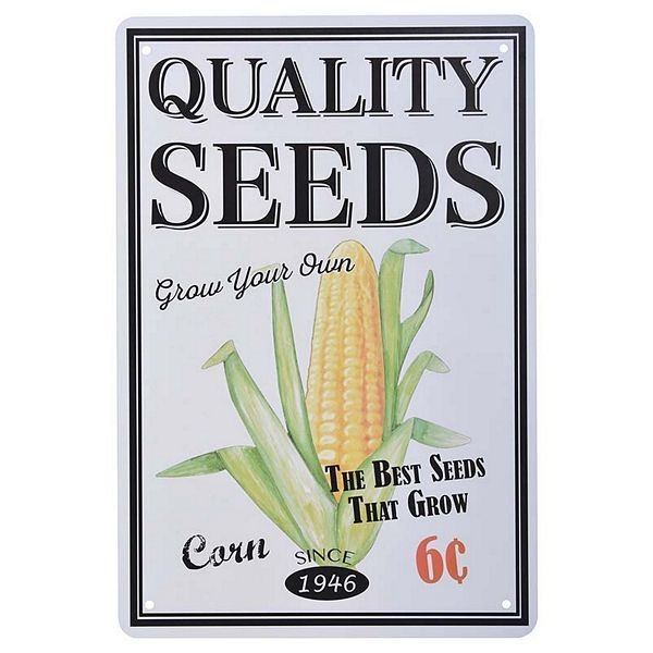 Esschert Ad Flowers and Seeds - Assorted