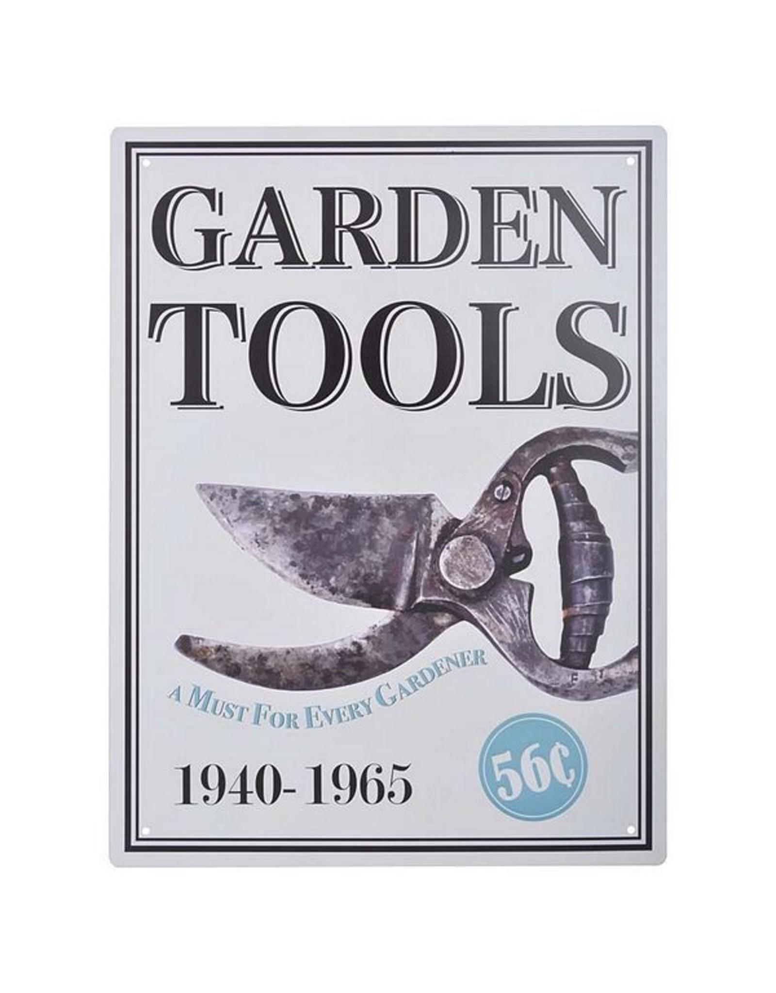 Esschert Ad Sign - Garden Tools
