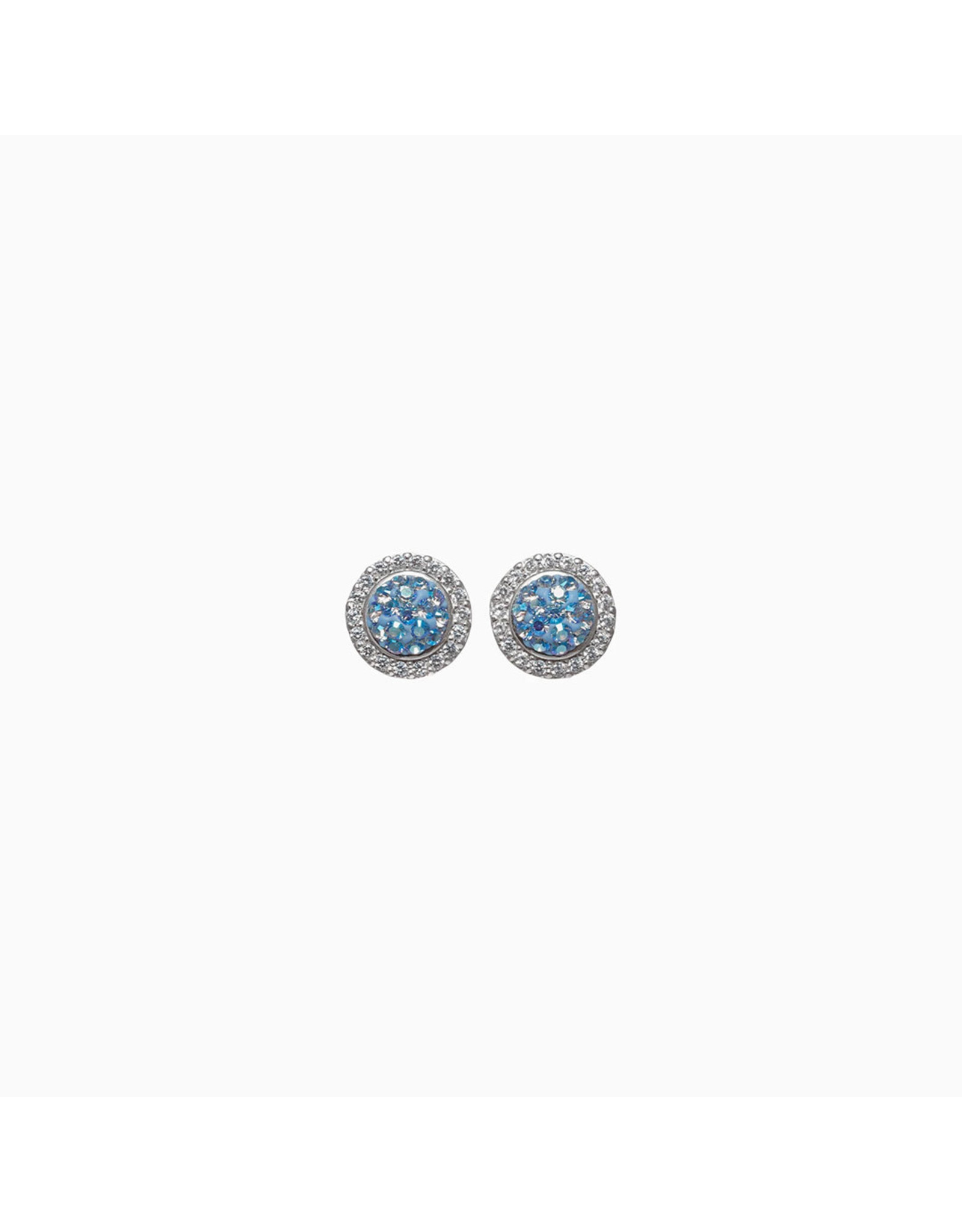 Hillberg & Berk H&B - Sparkle Ball Halo Earrings
