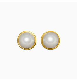 Hillberg & Berk H&B - Pearl Stud Earrings